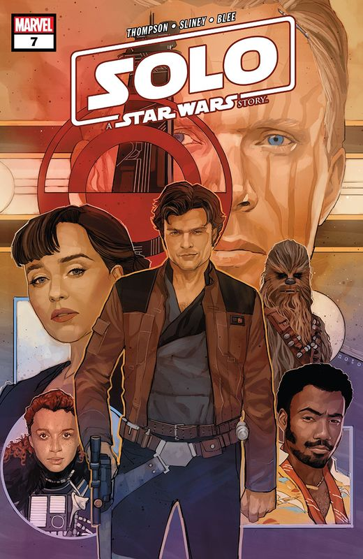 Solo: A Star Wars Story - Adaptation #7 (Cover A) by Robbie Thompson
