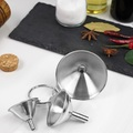 Ape Basics: Stainless Steel 3 Piece Funnel Set