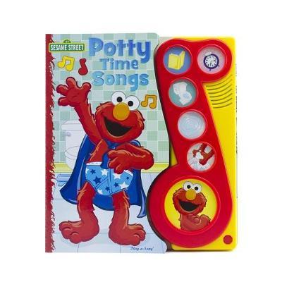 Sesame Street Potty Time Songs by Publications International Ltd