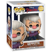 Pinocchio: Gepetto (with Accordion) - Pop! Vinyl Figure
