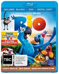 Rio on DVD, Blu-ray, DC