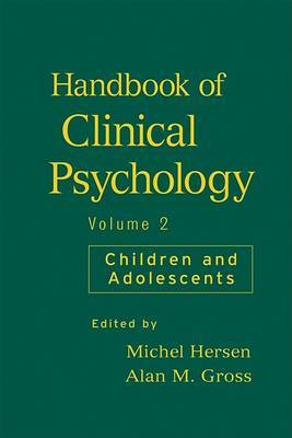 Handbook of Clinical Psychology, Volume 2 image