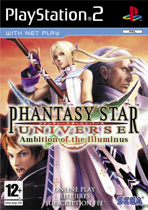 Phantasy Star Universe: Ambition of the Illuminus for PlayStation 2