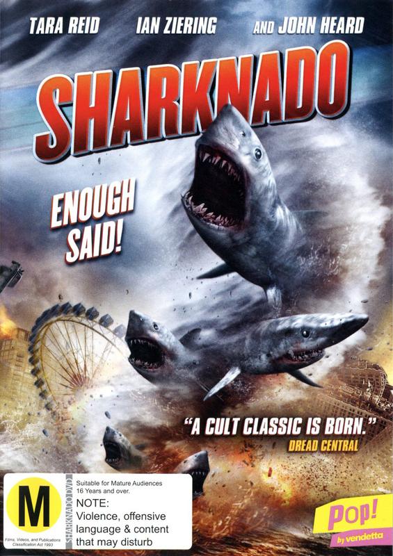Sharknado on DVD
