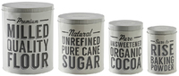 Mason Cash Baker Street - Set of 4 Baking Tins