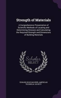 Strength of Materials by Edward Rose Maurer image