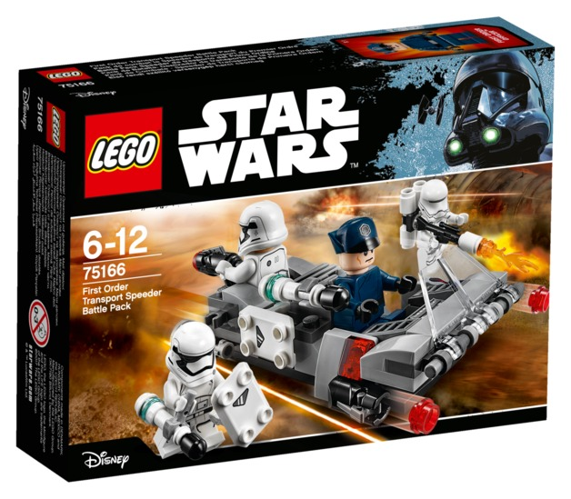 LEGO Star Wars - First Order Transport Speeder Battle Pack (75166)