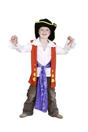 Captain Feathersword Dress Up Set - Size 2-4