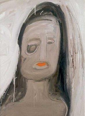 Eva Hesse Spectres 1960 by E. Luanne McKinnon