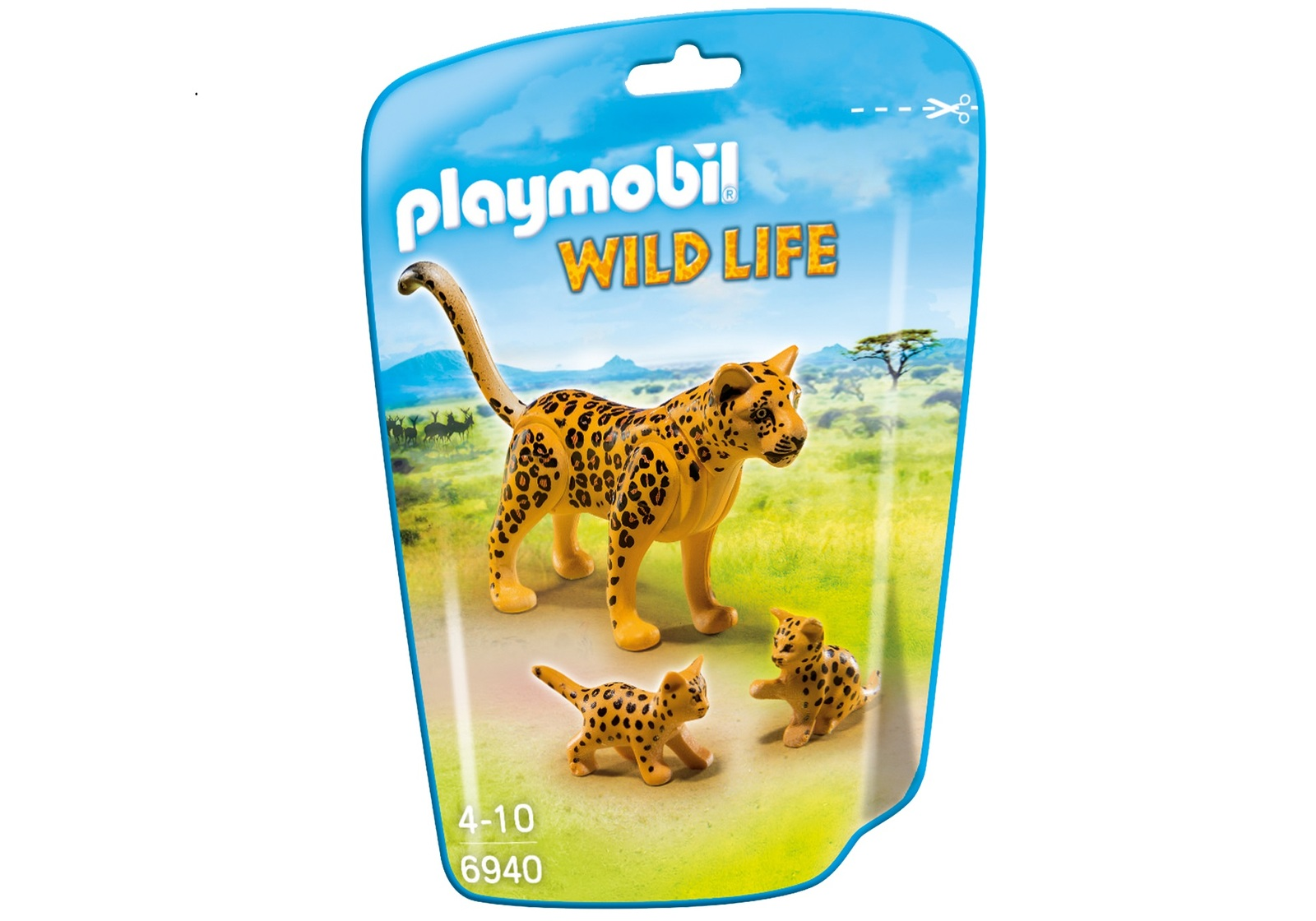 Playmobil: Wildlife - Leopard with Cubs image