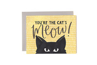One Canoe Two: Cat's Meow - Greeting Card image