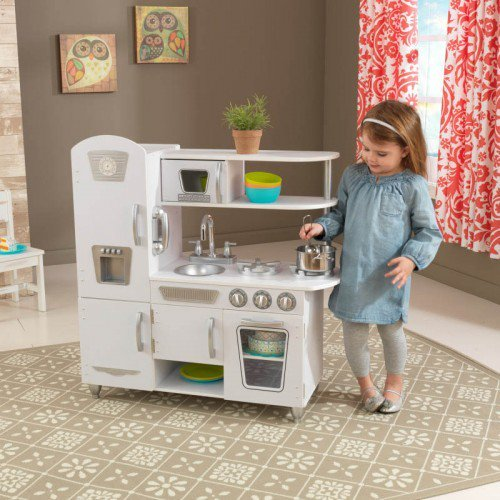 KidKraft - White Vintage Kitchen image