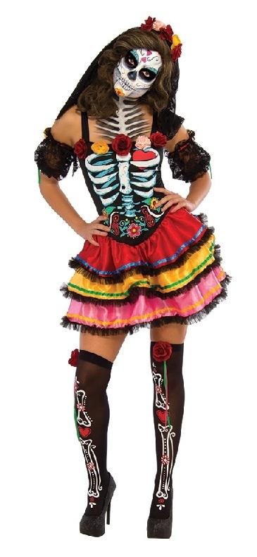 Rubie's: Day Of The Dead - Senorita Costume (X-Large)