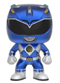 Power Rangers - Blue Ranger (Metallic) Pop! Vinyl Figure image