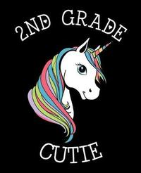 2nd Grade Cutie by Unicorn Composition Notebook Co image