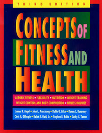 Concepts of Fitness and Health by James Angel image