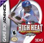 High Heat Major League Baseball 2002 for Game Boy Advance