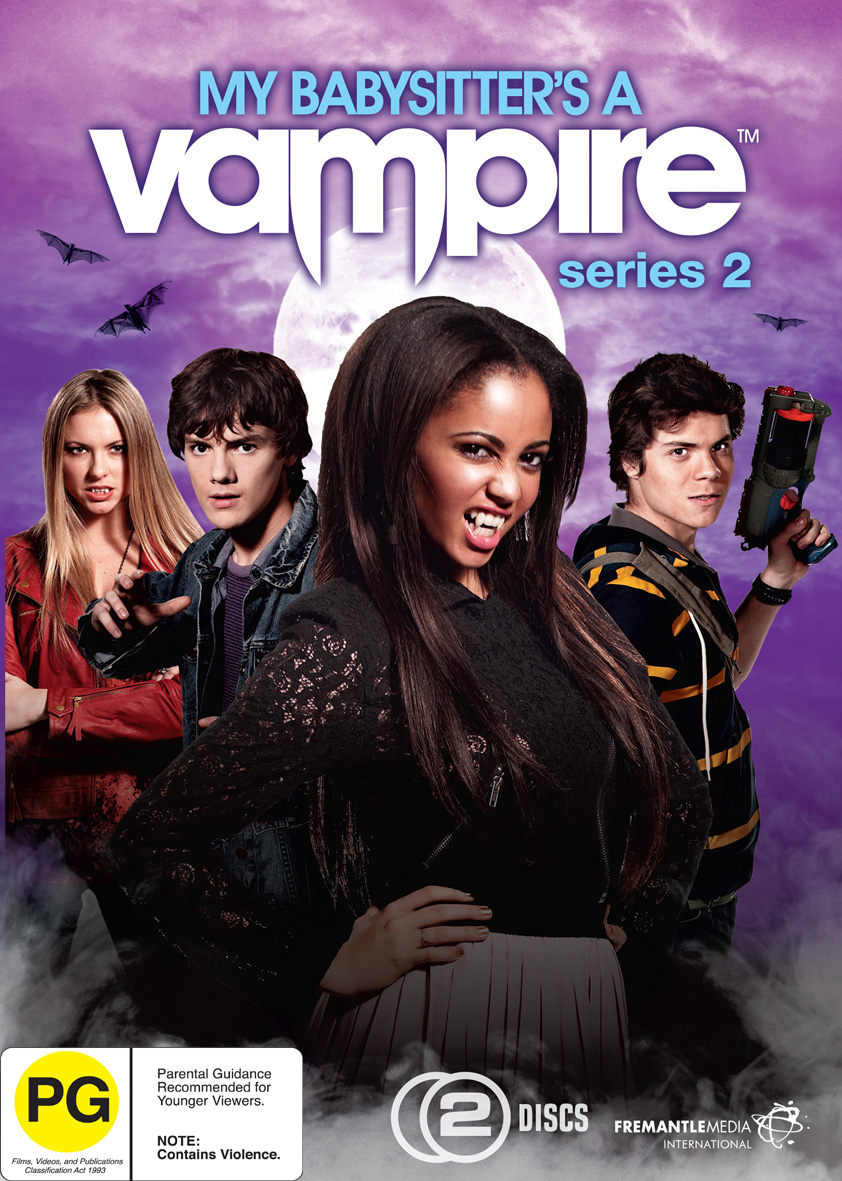My Babysitter S A Vampire Season 2 Dvd Buy Now At