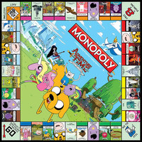 Monopoly Board Game - Adventure Time image
