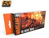 AK US Olive Drab Wargames Paint Set