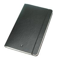 Ciak Cartesio Lined Notebook 90x140mm - Black
