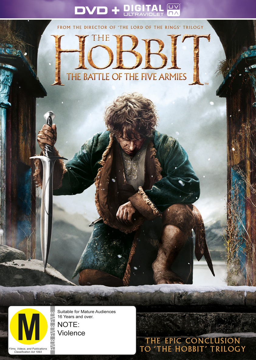 The Hobbit: The Battle of the Five Armies on DVD image