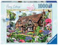 Ravenburger - Peony Cottage Puzzle (1000pc)