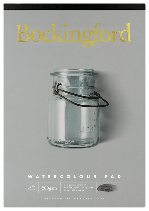 Bockingford: A2 200GSM Watercolour Pad - 20 Leaf