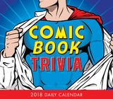 Comic Book Trivia 2018 Boxed Calendar by M E Peters