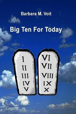 Big Ten for Today by Barbara M. Voit image
