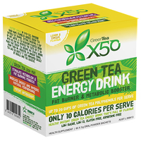 Green Tea X50 - Lemon & Ginger (60 Sachets)