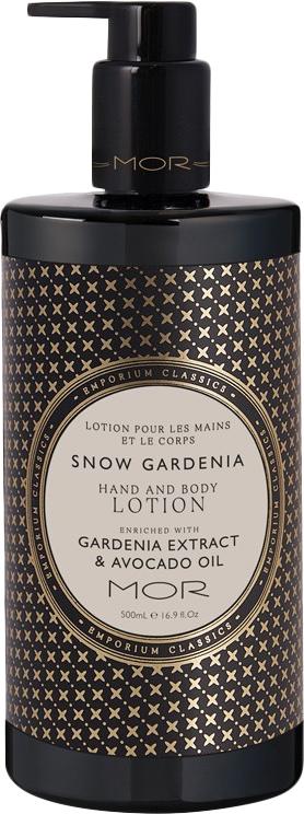 MOR Emporium Classics: Hand & Body Lotion - Snow Gardenia (500ml)