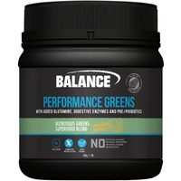 Balance Naturals Performance Greens - Pineapple Mango (600g)