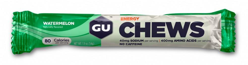 GU Energy Chews - Watermelon (54g) image