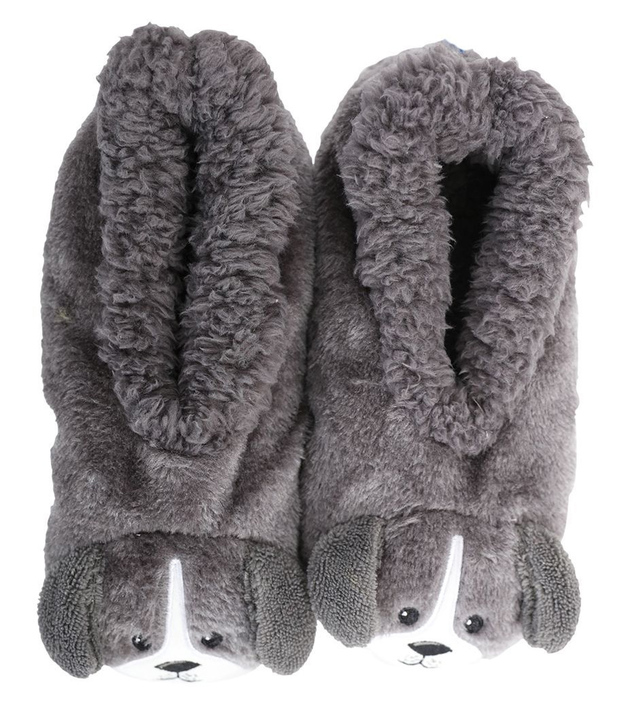 Slumbies: Dog Furry Critters - Kids Slippers (Large)