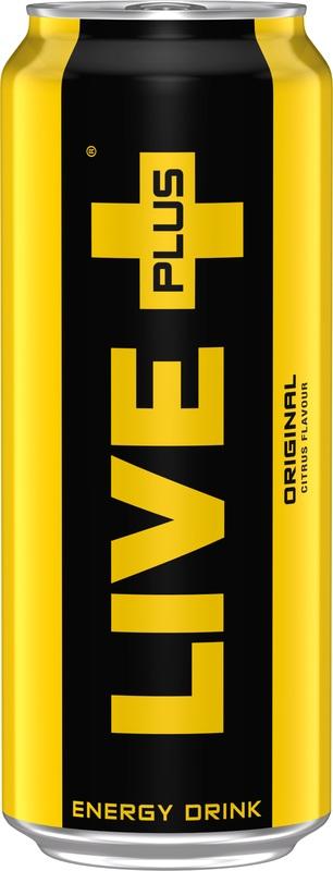 Live Plus Original Citrus Energy Drink 500ml
