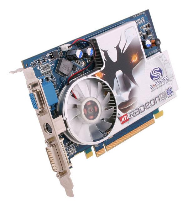 Sapphire Radeon X1600 PRO 256MB DDR3 HDMI PCIE