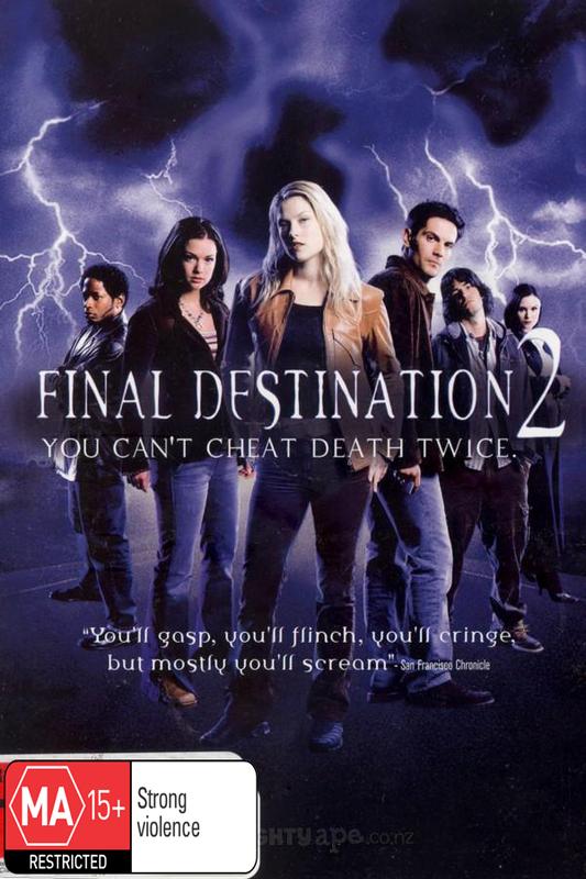Final Destination 2 on DVD