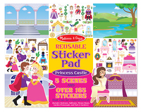 Melissa & Doug: Princess Castle Reusable Sticker Pad