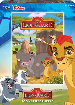 Holdson: Lion Guard - 100 Piece XL Puzzle