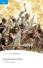 PLPR4:King Solomons Mine Bk/CD Pack by H.Rider Haggard image