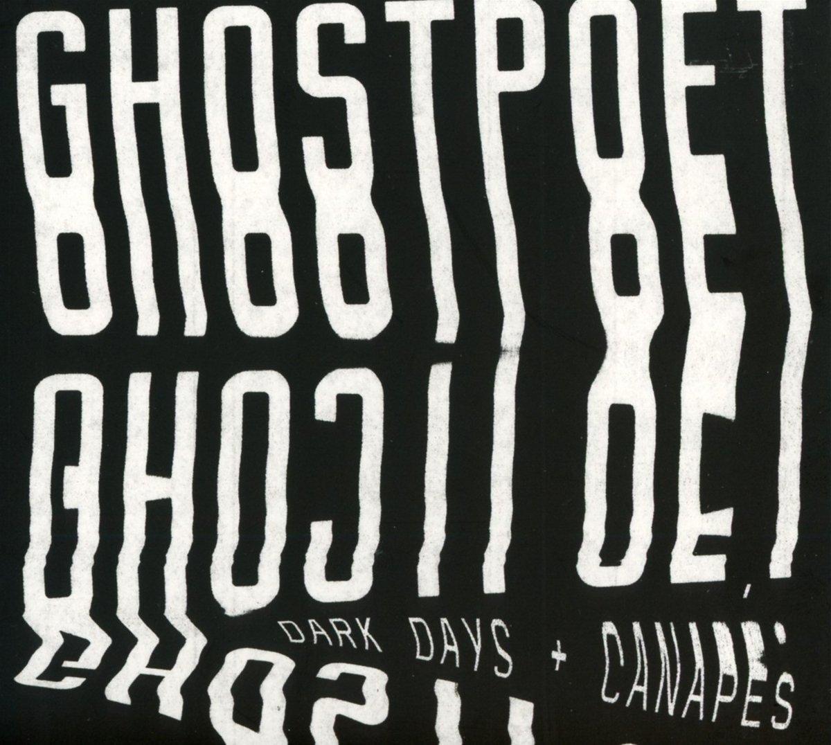 Dark Days + Canapés [Limited White Vinyl] (LP) by Ghostpoet image