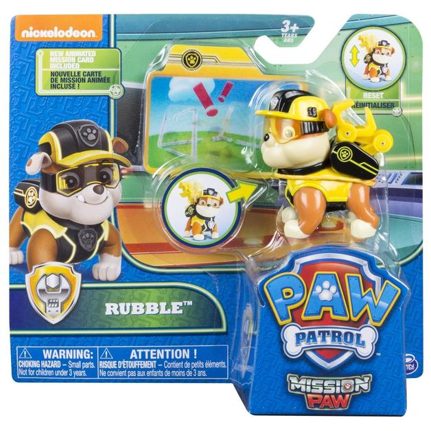 Paw Patrol: Hero Action Pup - Mission Paw Rubble