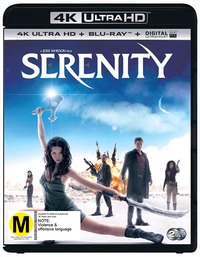 Serenity on UHD Blu-ray image
