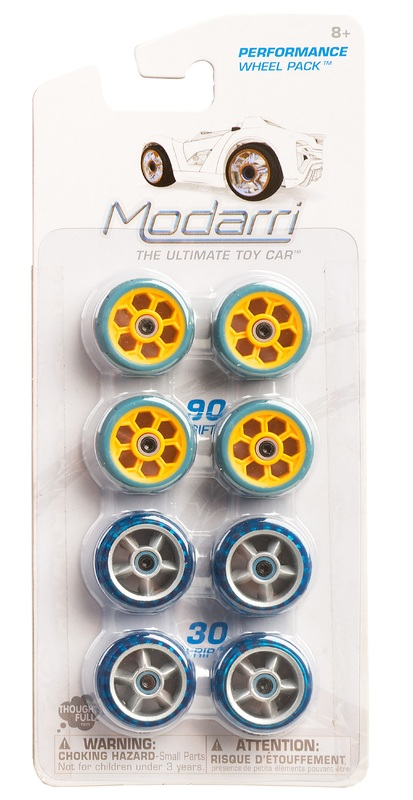 Modarri: Wheel Pack - Yellow/Blue