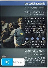 The Social Network - Collector's Edition (2 Disc) on DVD