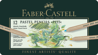 Faber-Castell: Pitt Pastel Pencil (Tin of 12) image