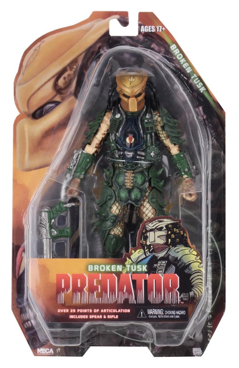 """Predators: Broken Tusk - 8"""" Action Figure image"""