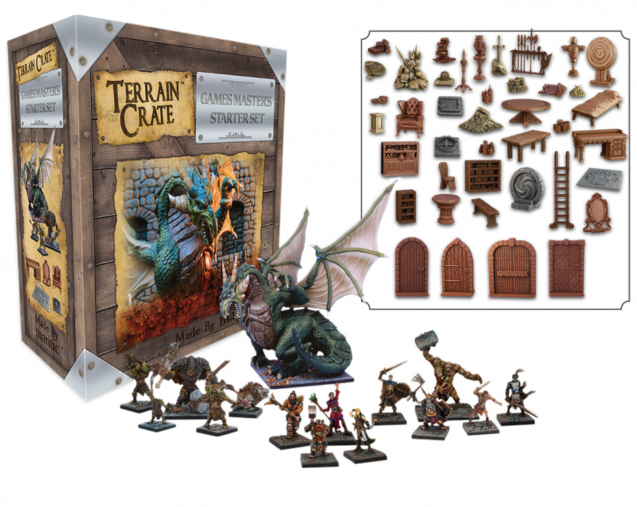 TerrainCrate: GM's Dungeon Starter Set 2nd Edition image
