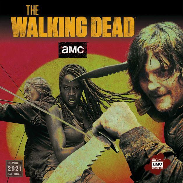 The Walking Dead AMC 2021 Square Wall Calendar